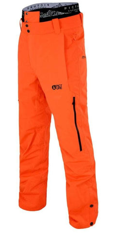 Picture Organic Clothing Object Mens Snow Pant in Orange