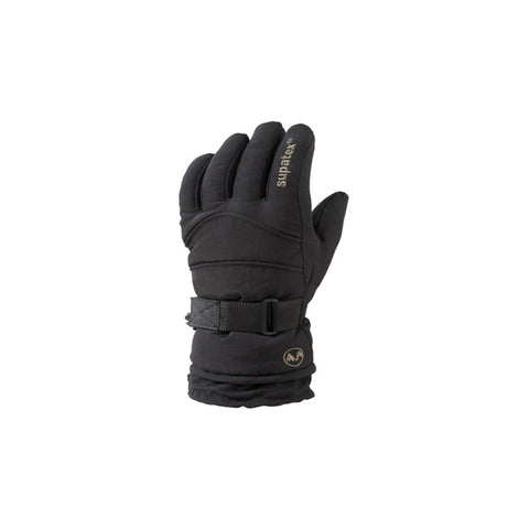 Adult Rocket Ski Snowboard Gloves Black
