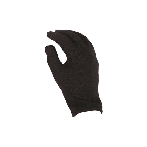 Junior Thermal Glove Liners Black