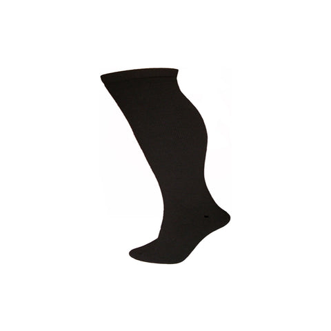 Adult Thermal Ski Snowboard Tube Sock Black