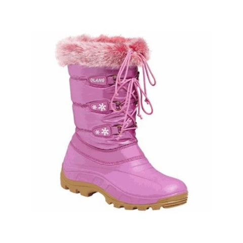 Olang Patty Ladies Snow Boots Raspberry