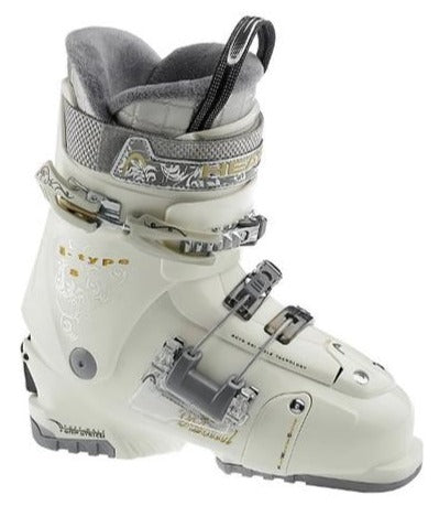 Head I-Type 8 One Ladies Ski Boots 2011 Pearl/Gold