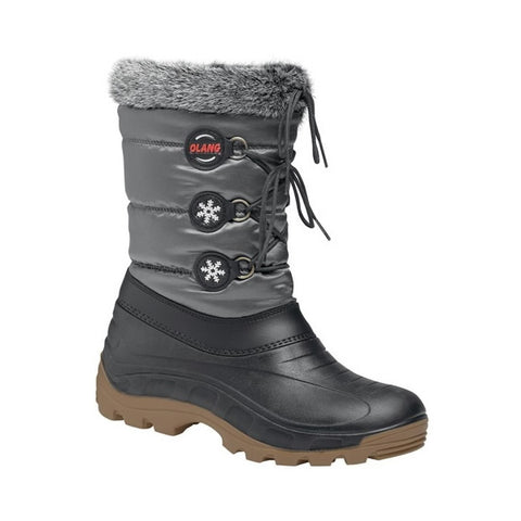 Olang Patty Ladies Snow Boots Anthracite