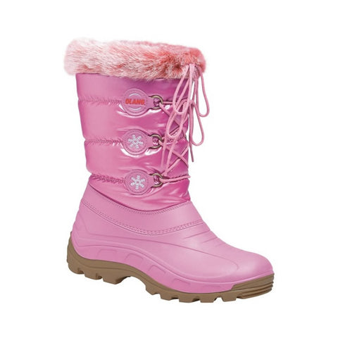 Olang Patty Kids Snow Boots Raspberry