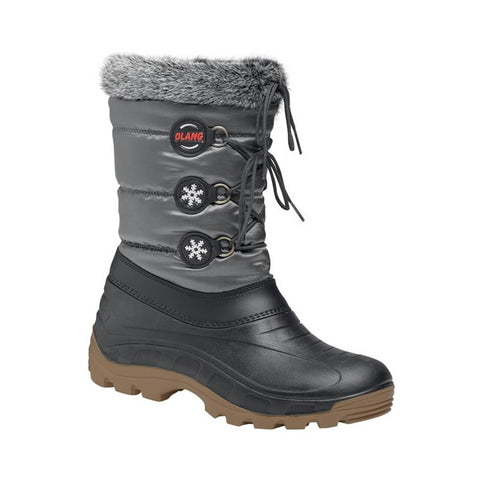 Olang Patty Kids Snow Boots Anthracite