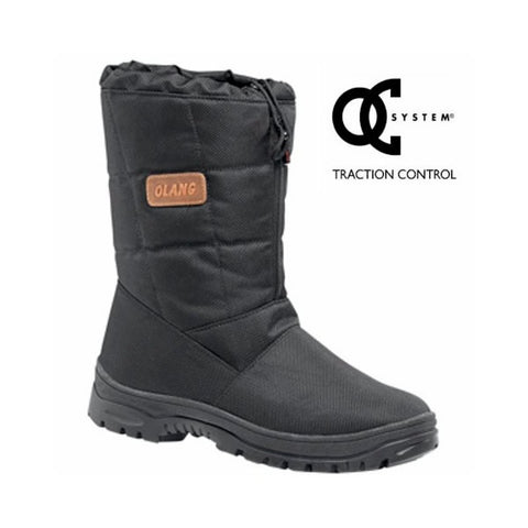 Olang Stubai Tex OC Mens Snow Boots in Black