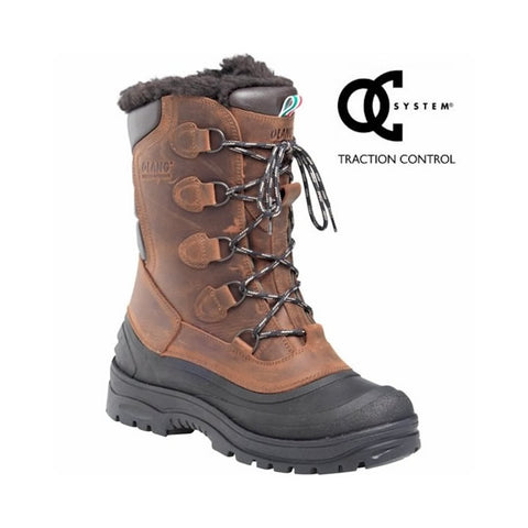 Olang Centauro OC Mens Snow Boots in Tan
