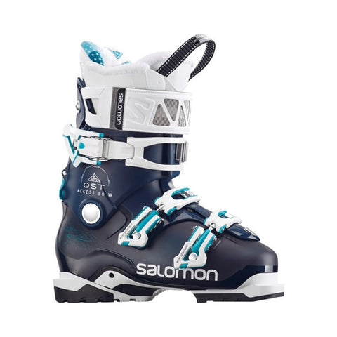 Salomon QST Access 80 Womens Ski Boot in Petrol 399365