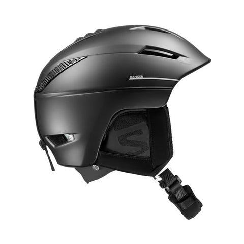 Salomon Ranger Custom Air Ski Helmet in Black 391244