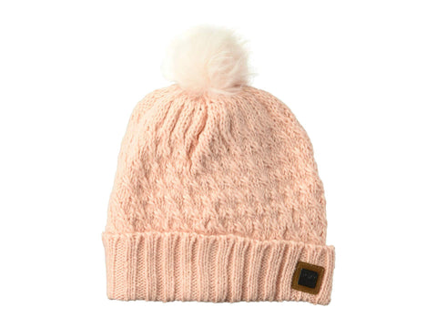 Roxy Blizzard Beanie Coral Cloud