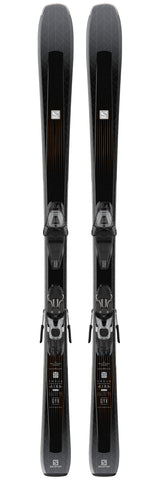Salomon Aira 76 CF Skis with L10 GW Bindings in 140cm