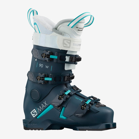 Salomon S Max 90 Women's ski boots in Petrol Blue
