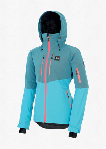 Picture Organic Clothing Women's Signa Snow Jacket in Light Blue