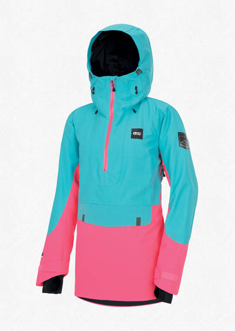 Picture Organic Clothing Women's Tanya Snow Jacket in Light Blue Pink