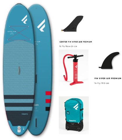"Fanatic Viper Air Inflatable SUP/Windsurf 2021 11'0"" Board Only"