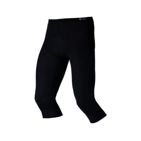 Odlo Mens Warm Thermal 3/4 Pants Black