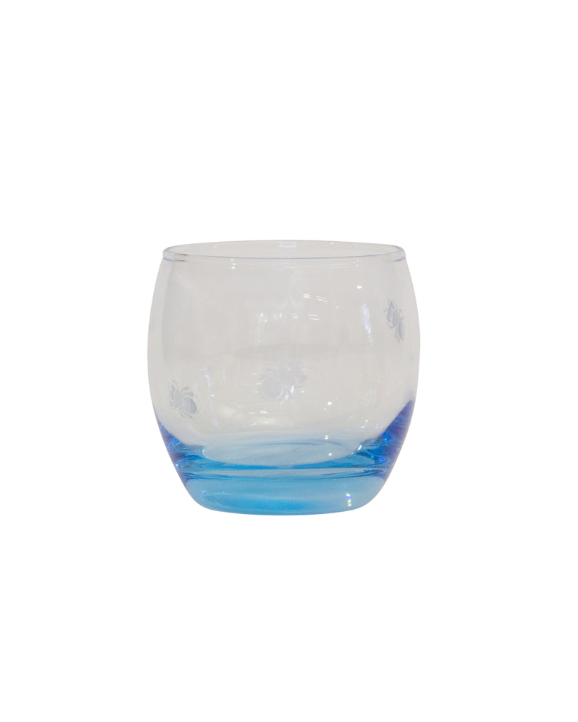 Aaron Micallef Native Bee Etched Tumbler Transparent/Blue