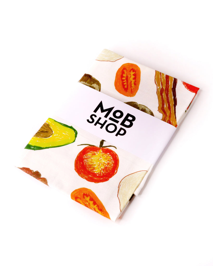 MoB x Jessica Quinn Breakfast Tea Towel
