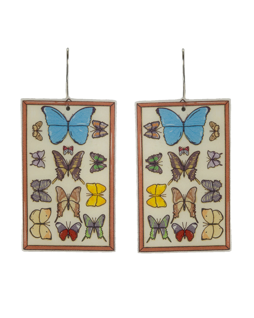 Busy Head Butterfly Collection Earrings