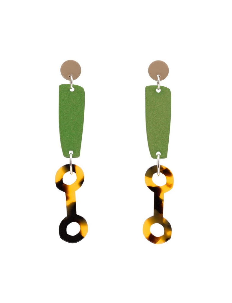 Bianca Mavrick Colour Link Earrings