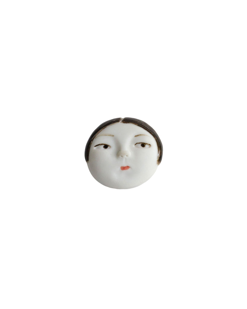 Dai Li Little Head Brooch #1