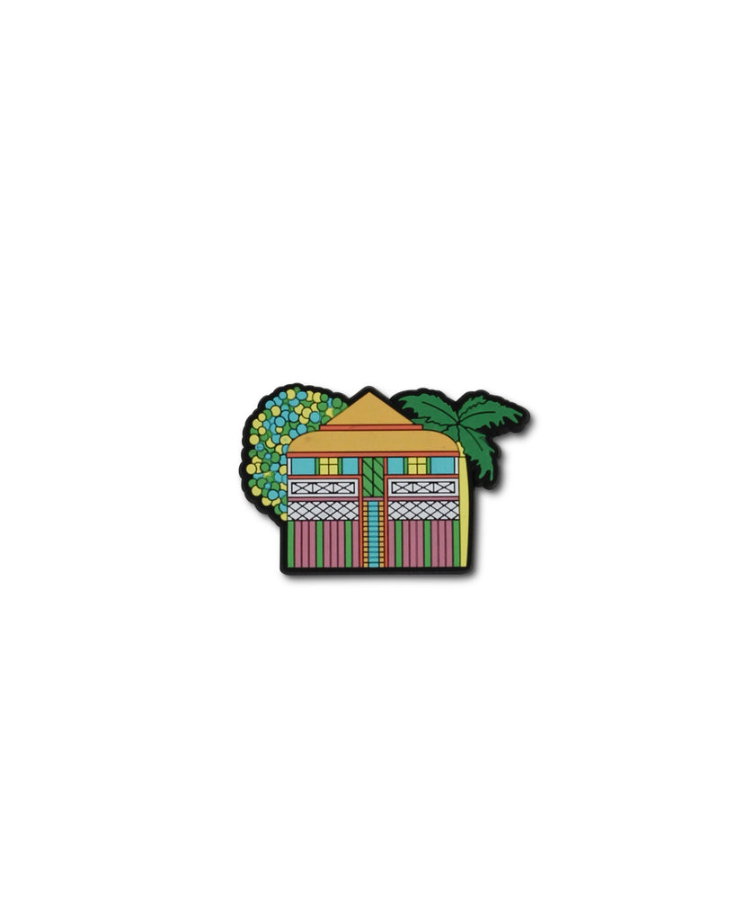 Debra Hood Suburb House Magnets