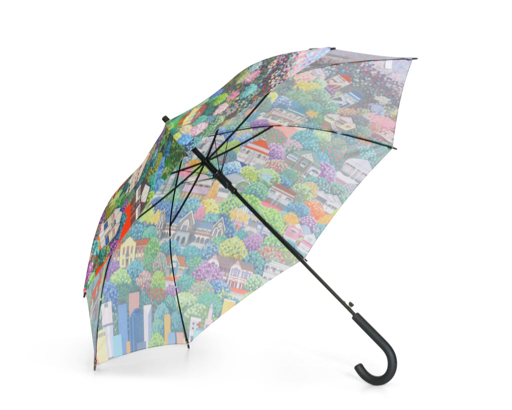 MoB x Debra Hood Pink Confetti Sunset Umbrella