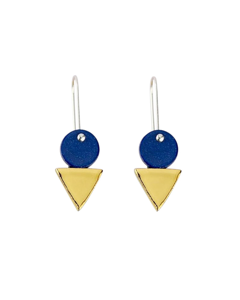 Erin Lightfoot Tri-Stack Earrings (MULTIPLE COLOURS AVAILABLE)