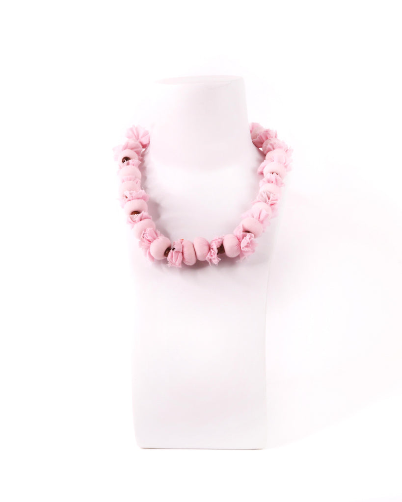 Easton Pearson Fabric Necklace