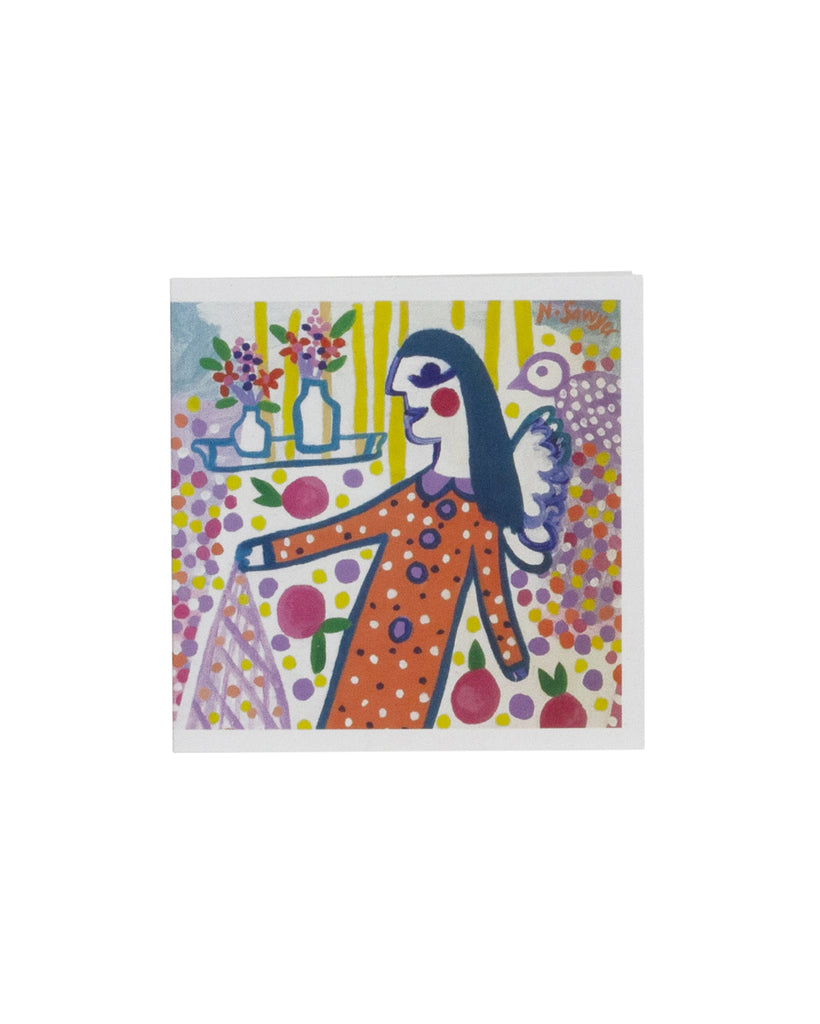 Nadine Sawyer Delight Greeting Card
