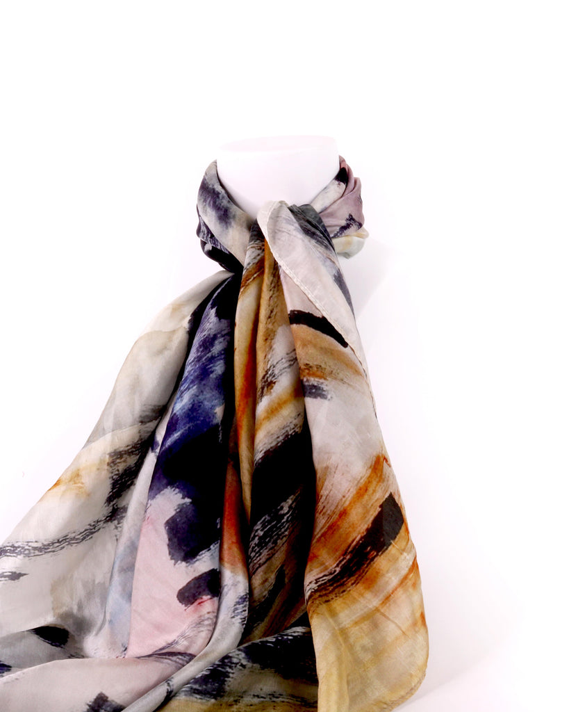Joy Roggenkamp, Spring Hill View Silk Scarf
