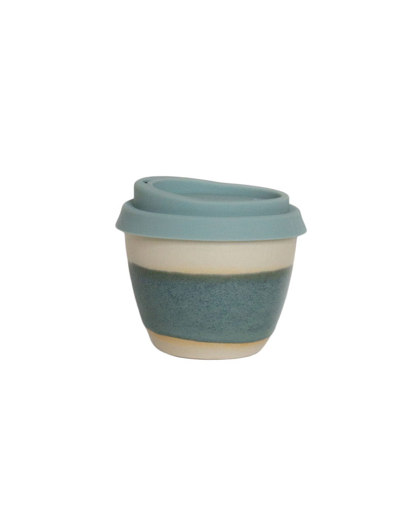 Kim Wallace Reusable Coffee Cup Blue Gum