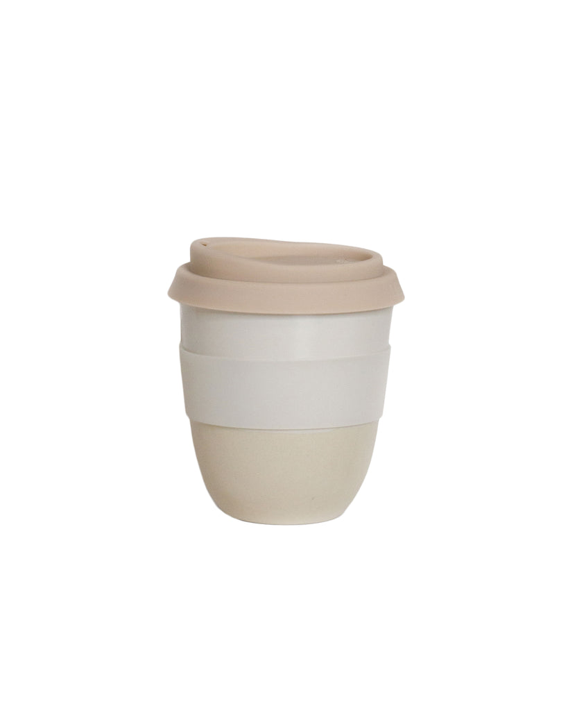 Kim Wallace Reusable Coffee Cup Classic White
