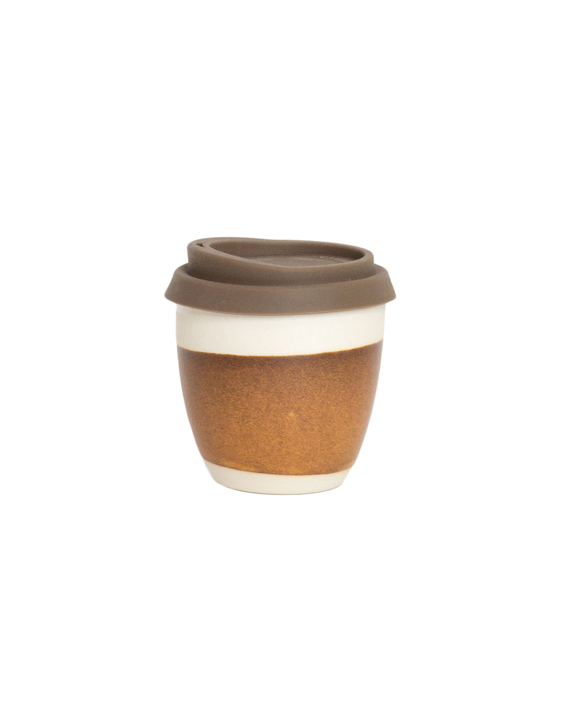 Kim Wallace Reusable Coffee Cup Rust
