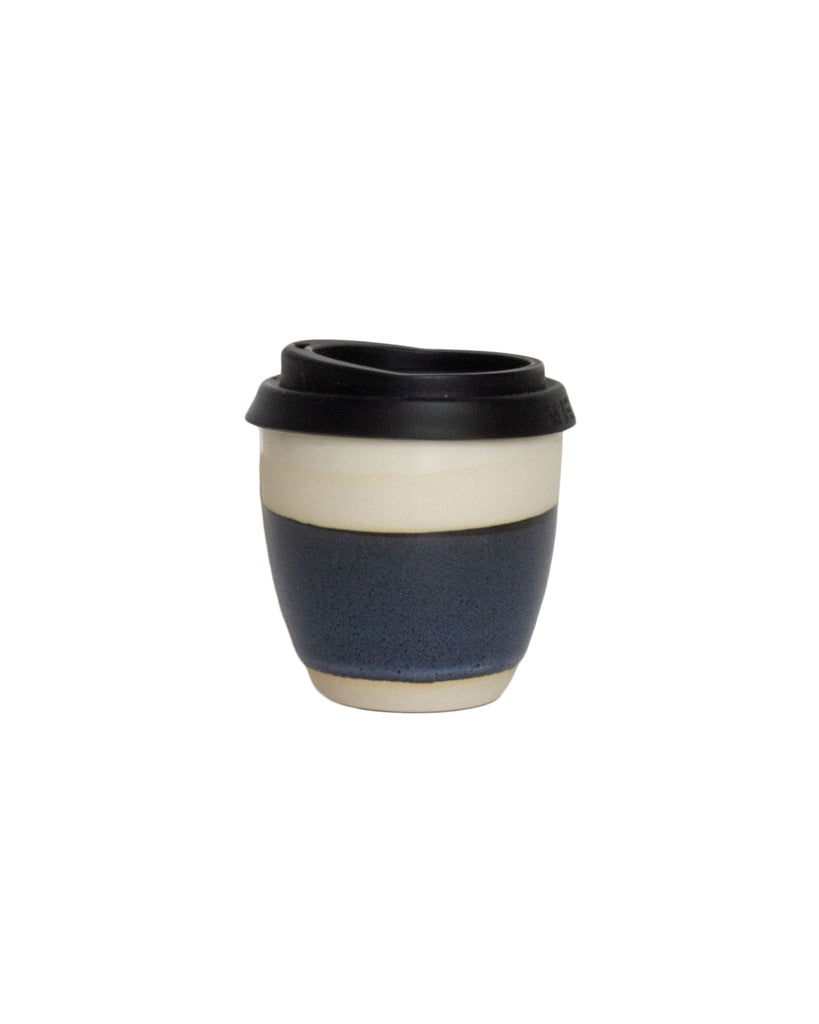 Kim Wallace Reusable Coffee Cup Stormy Blue