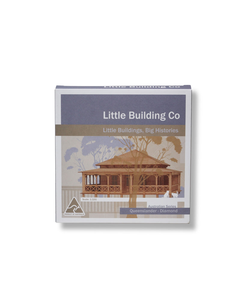 Little Building Co Queenslander Diamond Kit