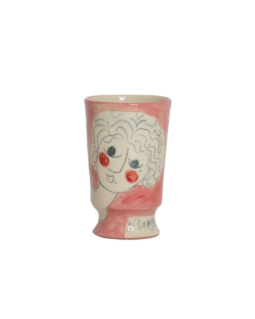 Nadine Sawyer Urn Vase Blush