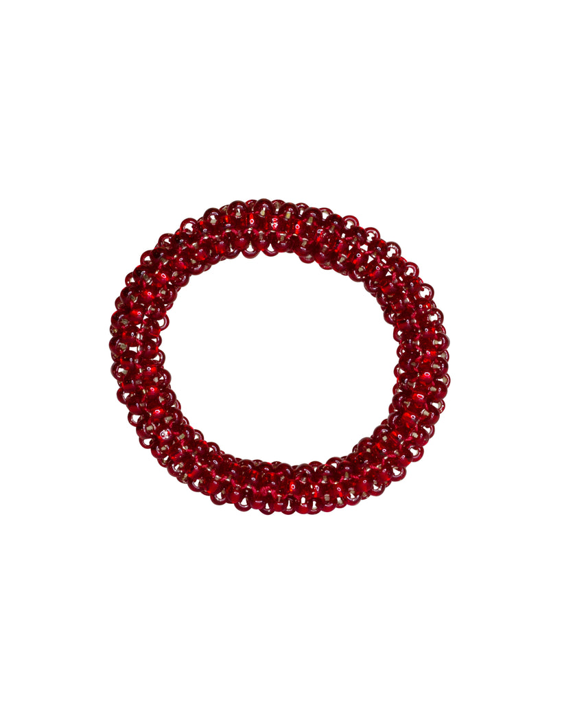 Paula Dunlop Glossy Garnet Red Bangle