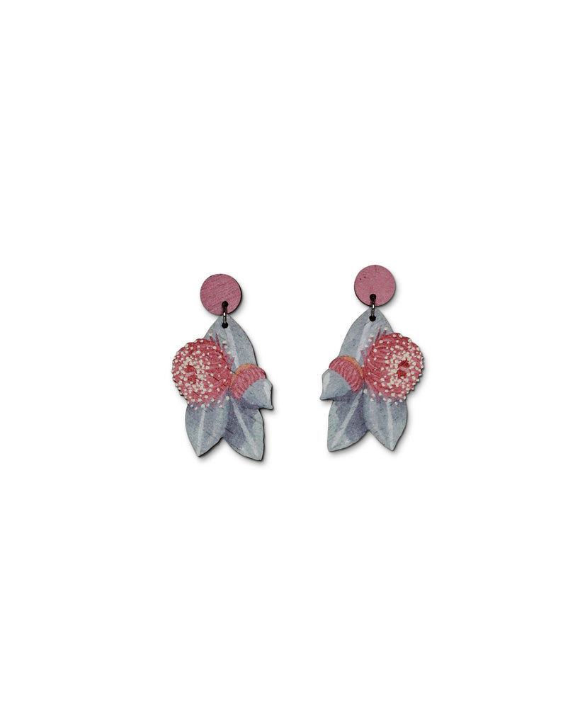Pixie Nut & Co Mottlecah Gum Earring