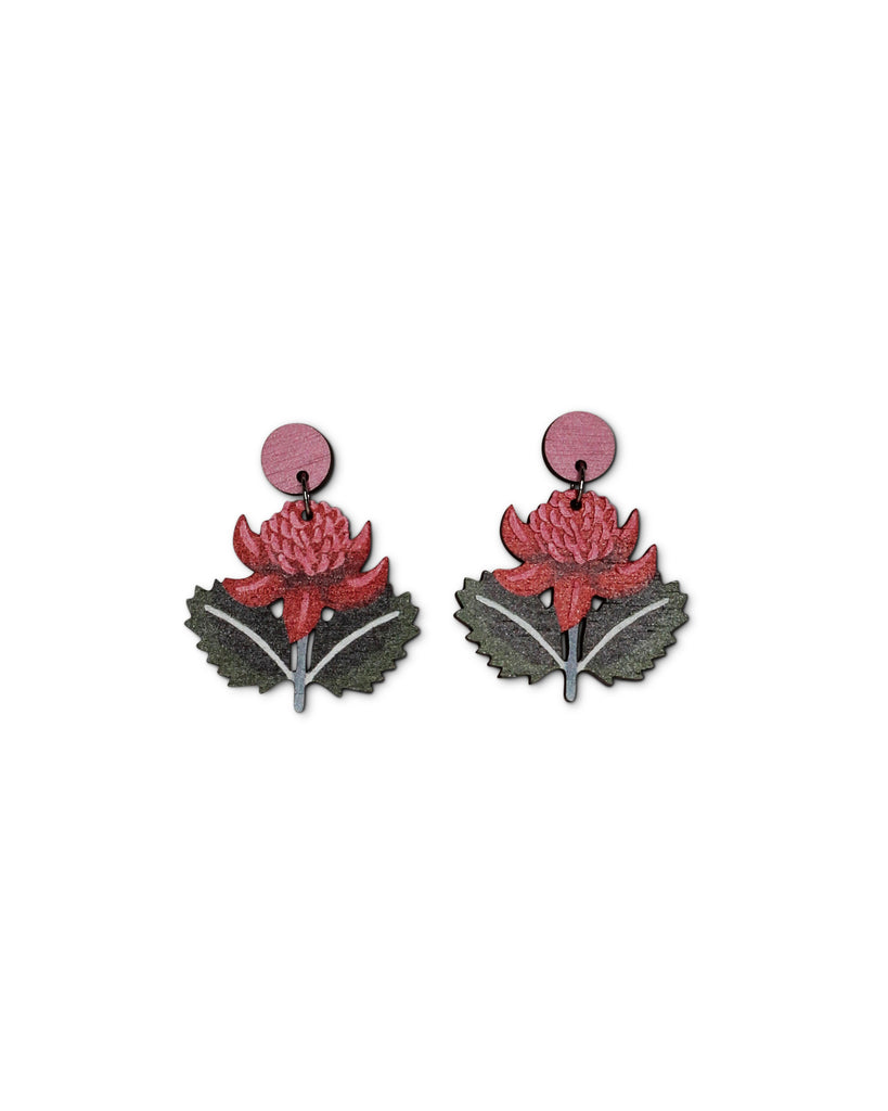 Pixie Nut & Co Waratah Earring