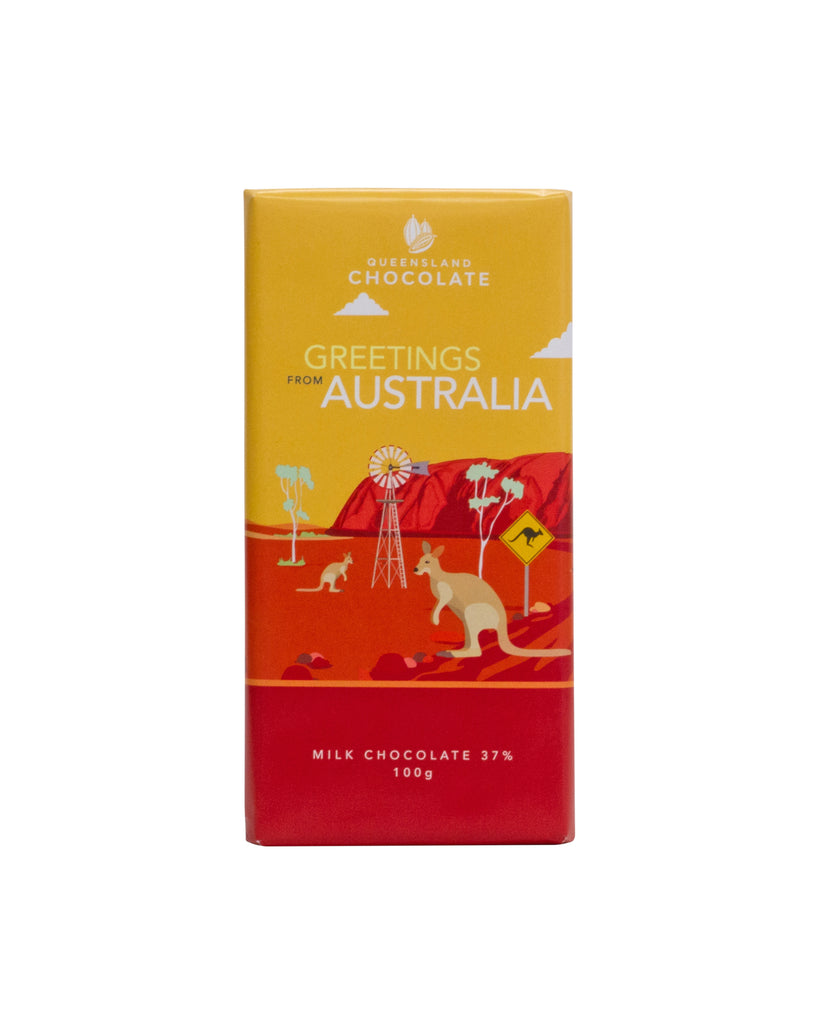 Greetings from AUSTRALIA Chocolate 100g