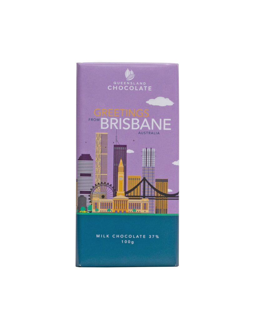 Greetings from BRISBANE Chocolate 100g
