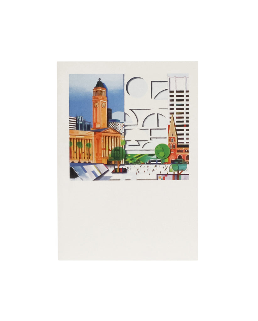 Sarianti Designs, Brisbane City Hall Greeting Card