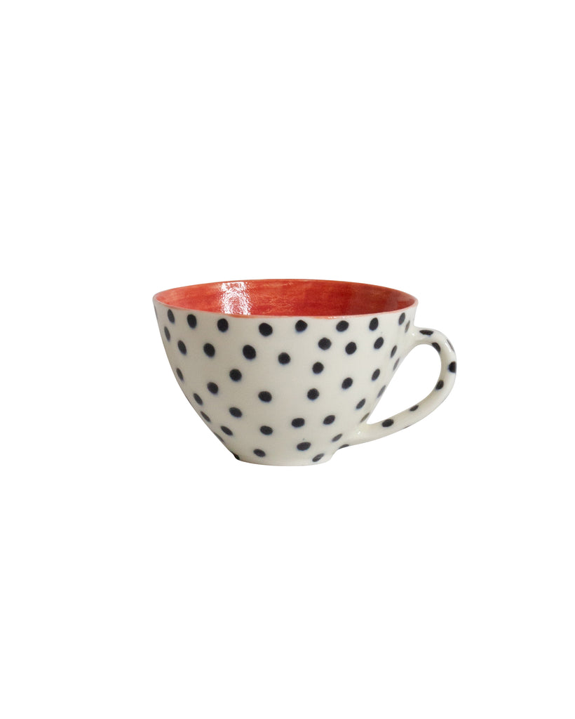 Shannon Garson Spotty Cups Red