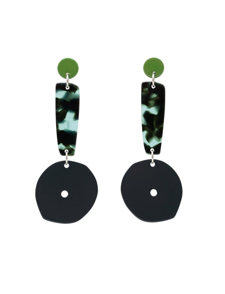 Bianca Mavrick Shield Earrings