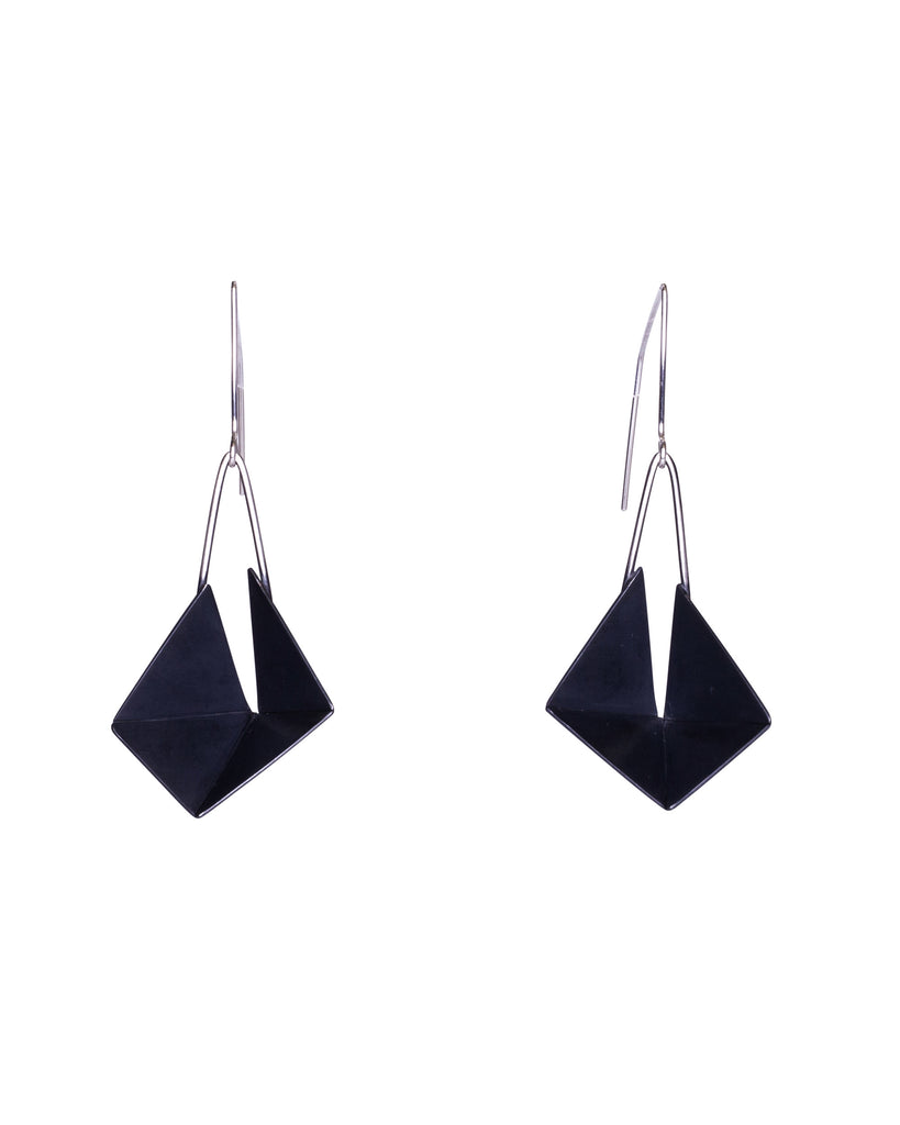 Vivien Bedwell Four Walls Oxidised Earrings