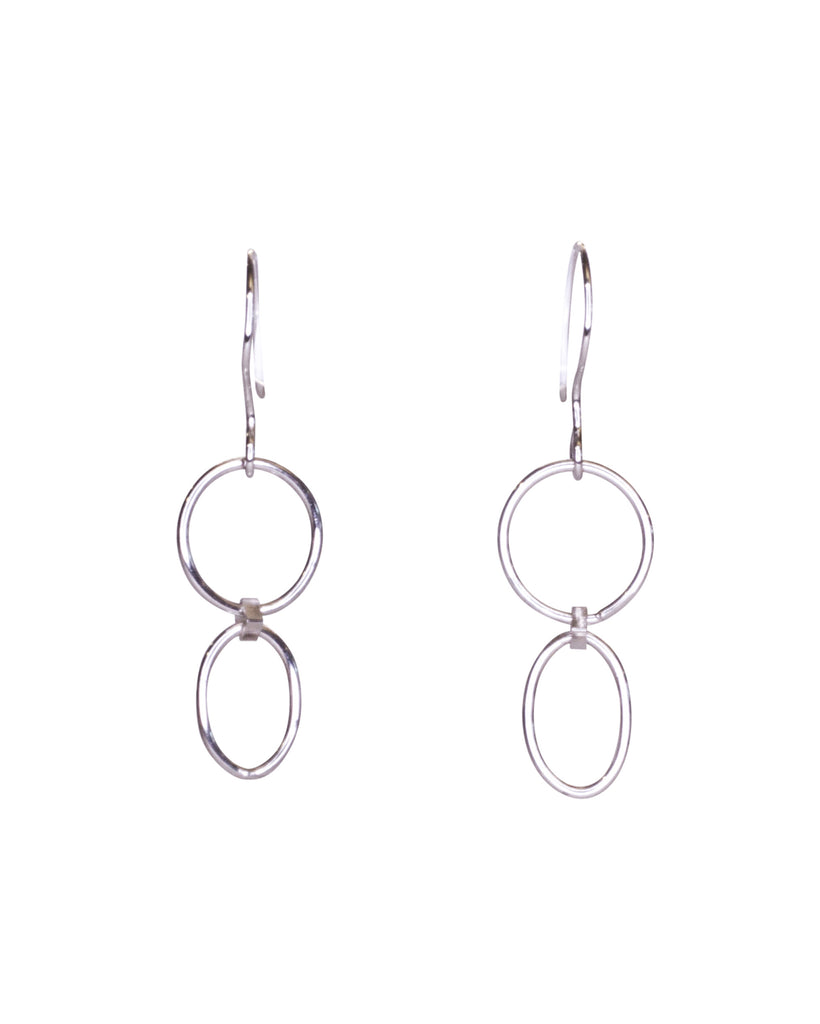 Vivien Bedwell Circle Oval Drops