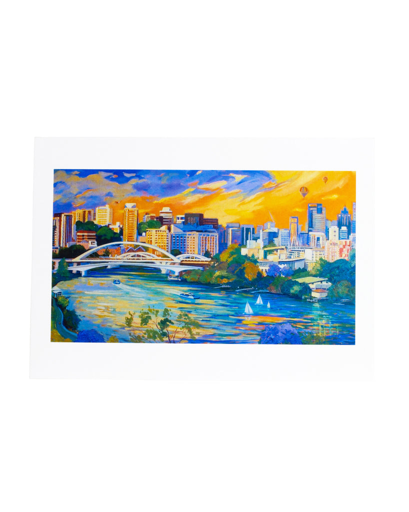 MoB Jan Jorgensen Greeting Card The Great River