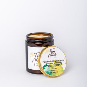 Flore Nourishing Hair Butter - Aloe Vera & Rosemary