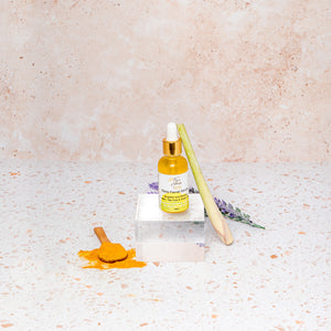 Flore Facial Serum - With Turmeric, Lavender & Tea Tree